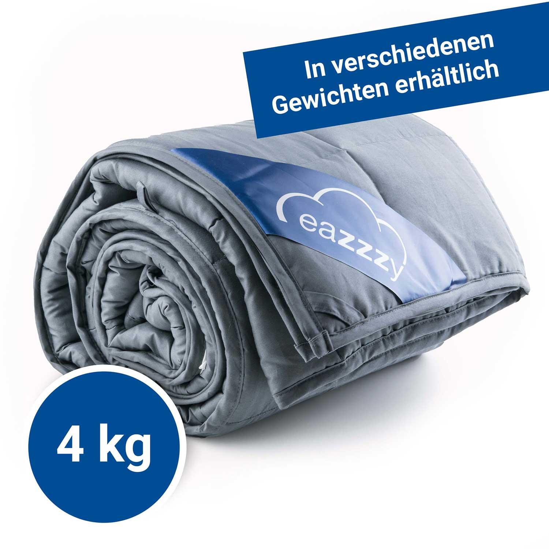 eazzzy | Gewichtsdecke 135 x 200 cm (4 Kg)