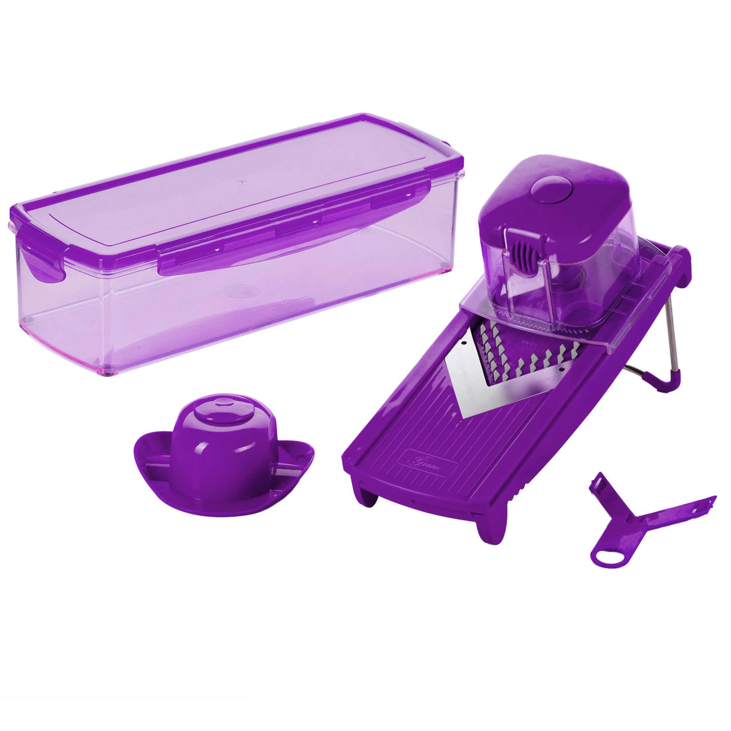Speed Slicer Medium | Set 6-tlg. (Lila)