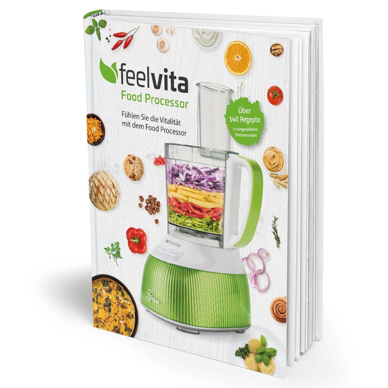 Rezeptbuch für Küchenmaschine Feelvita Genius