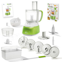 Feelvita | Food Processor inkl. Zitruspresse (Set 20tlg.)
