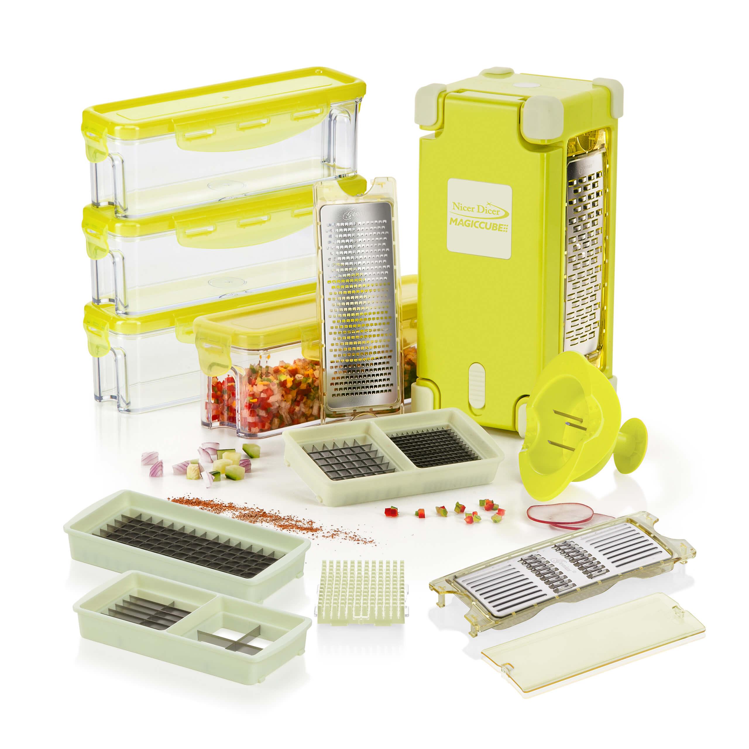 Nicer Dicer Magic Cube Gourmet, XL-Set 19tlg.
