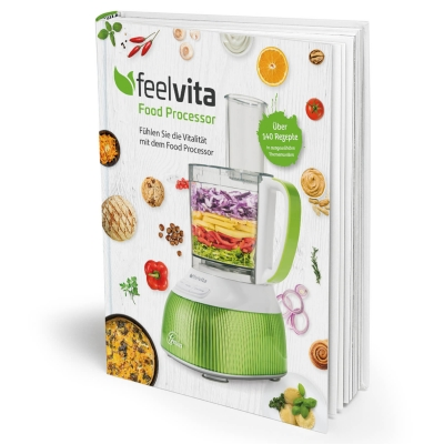 Feelvita   Food Processor Rezeptbuch