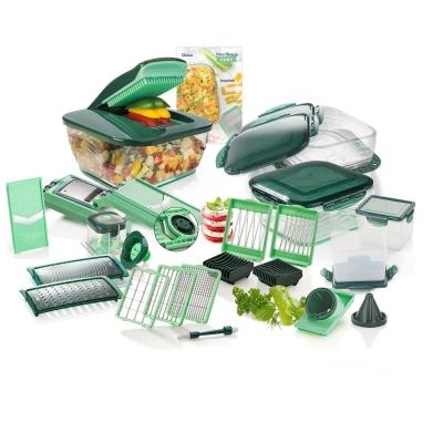 Nicer Dicer Chef (34-tlg.) | inkl. Glasschüssel-Set