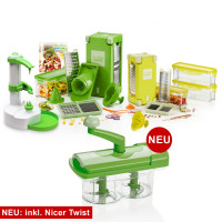Nicer Dicer Magic Cube (Set 38tlg.) | inkl. Nicer Twist