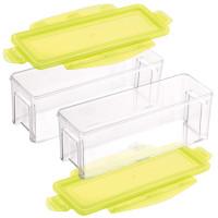Nicer Dicer Magic Cube gourmet Auffangbehälter, Set 4tlg.