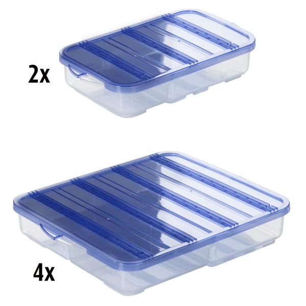 SmartVac SV5000 Portionier-Dosen, Set 12tlg., blau
