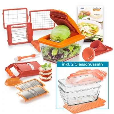 Nicer Dicer Chef S   Deluxe-Set 23-tlg.