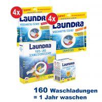 Laundra | Waschmittel-Set 192-tlg.
