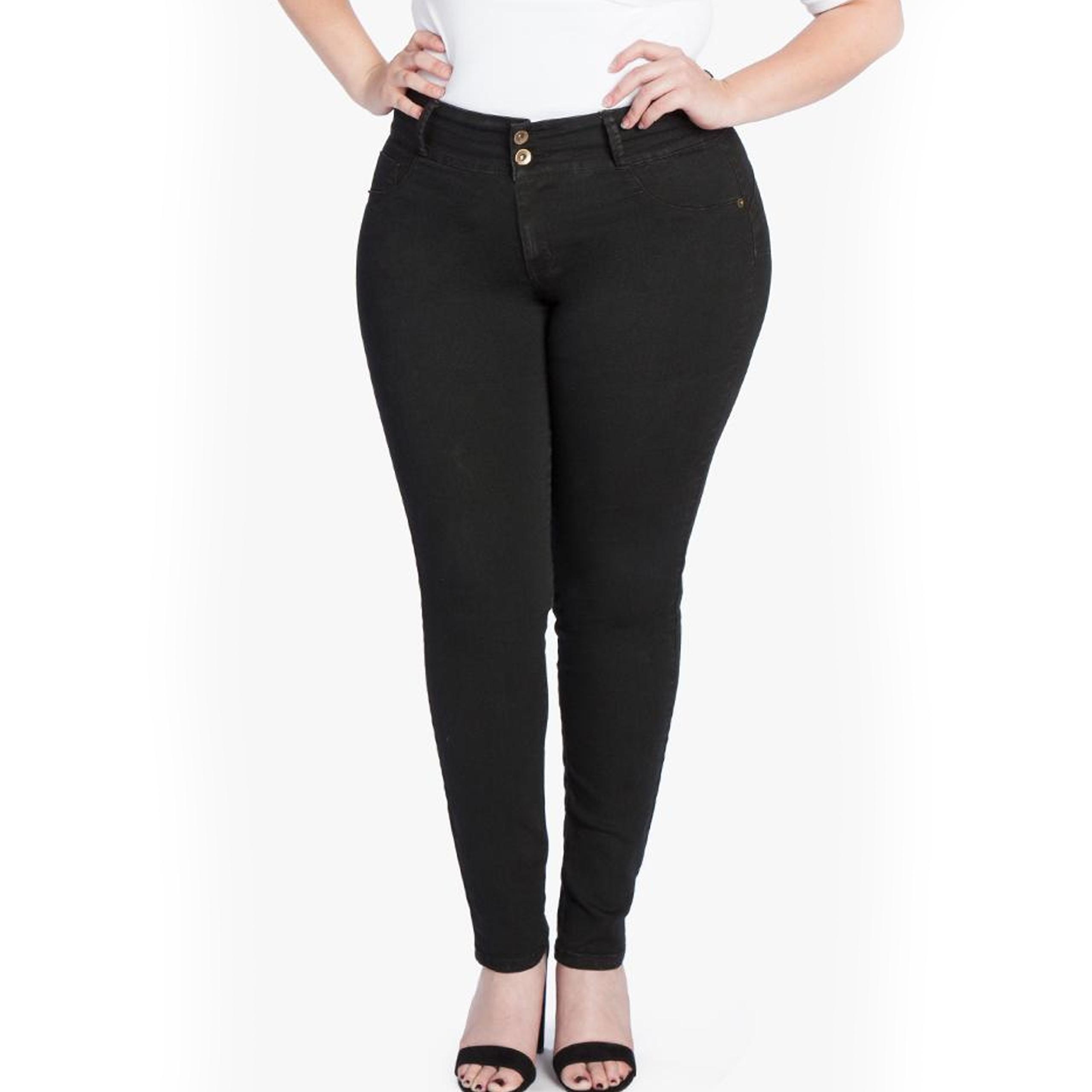 MyFit Jeans | schwarz (44-50)