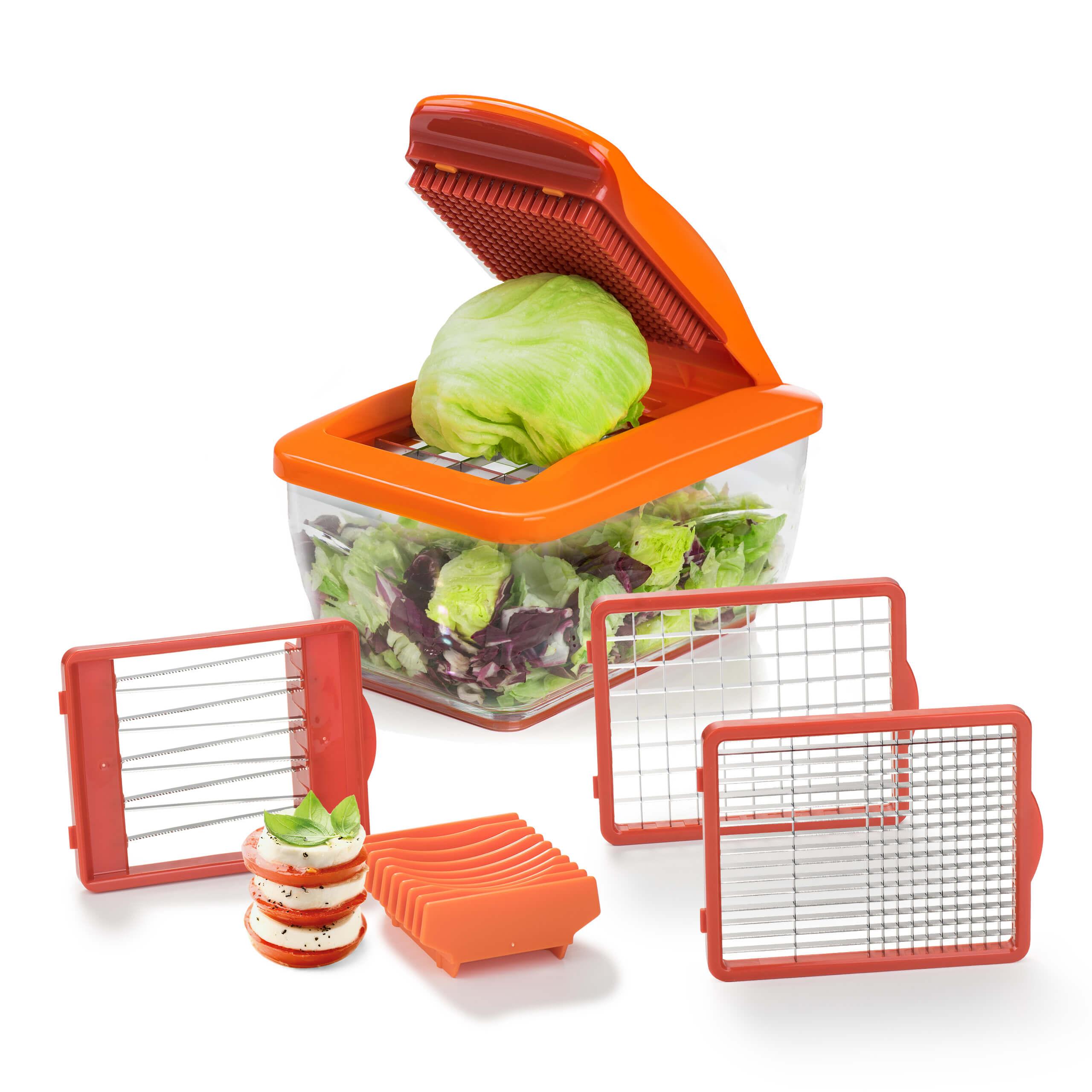 Nicer Dicer Chef S | Premium | Set 7-tlg. (Orange)