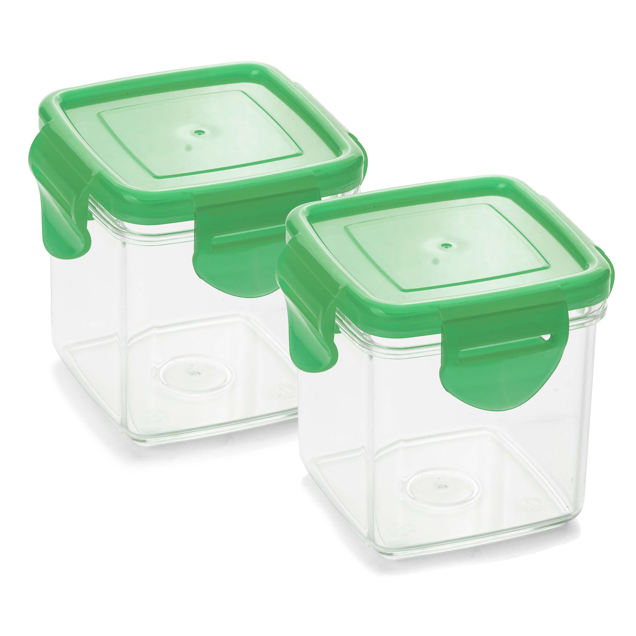 Genius Nicer Dicer Quick Auffangbehälter Set 4-tlg. Grün