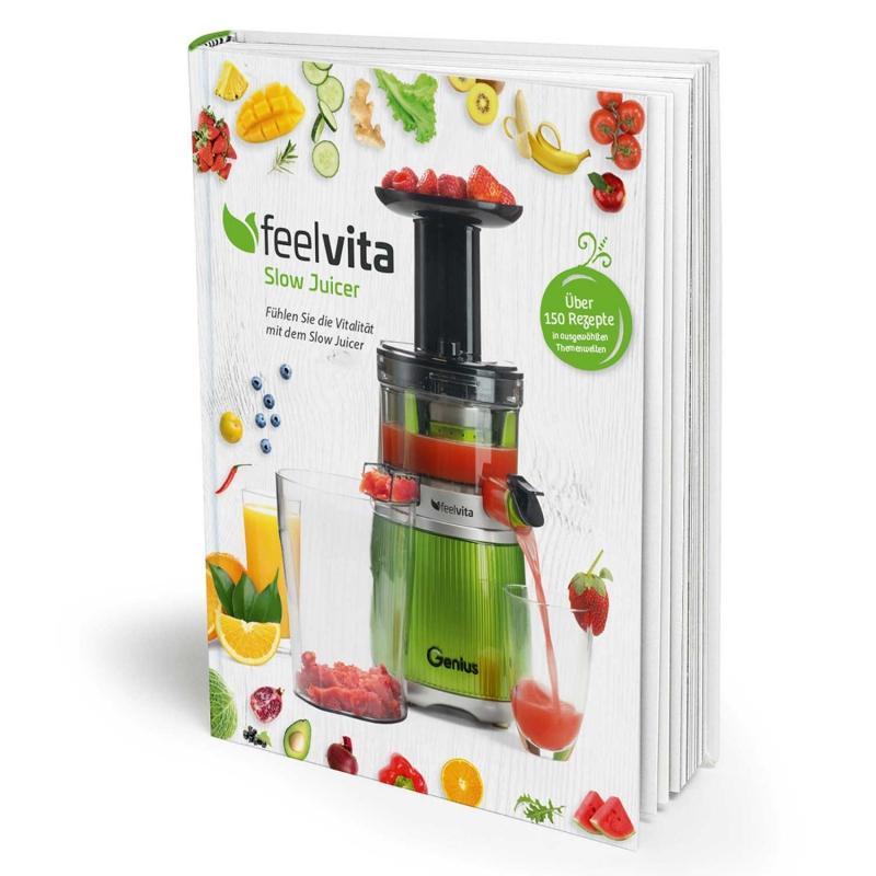 Feelvita | Slow Juicer Rezeptbuch