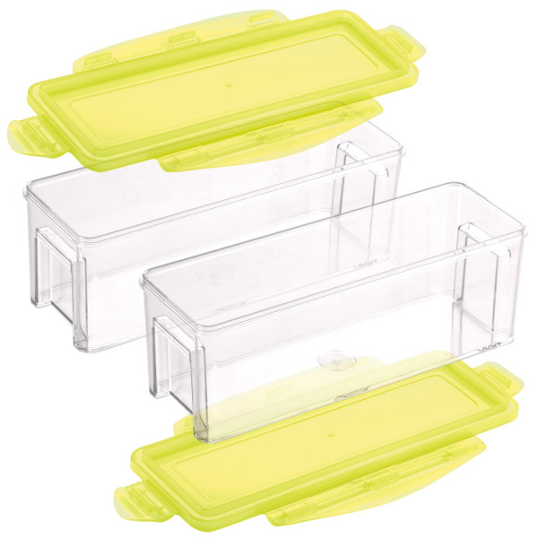 Nicer Dicer Magic Cube gourmet Auffangbehälter, Set 4tlg.