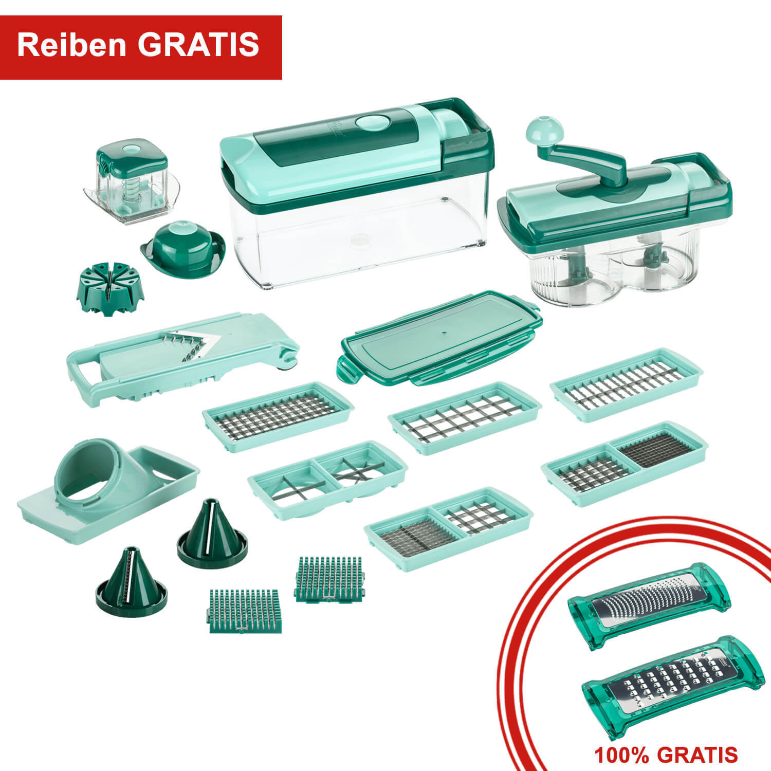nicer dicer fusion inkl gratis reiben schneidger t genius genius online shop. Black Bedroom Furniture Sets. Home Design Ideas