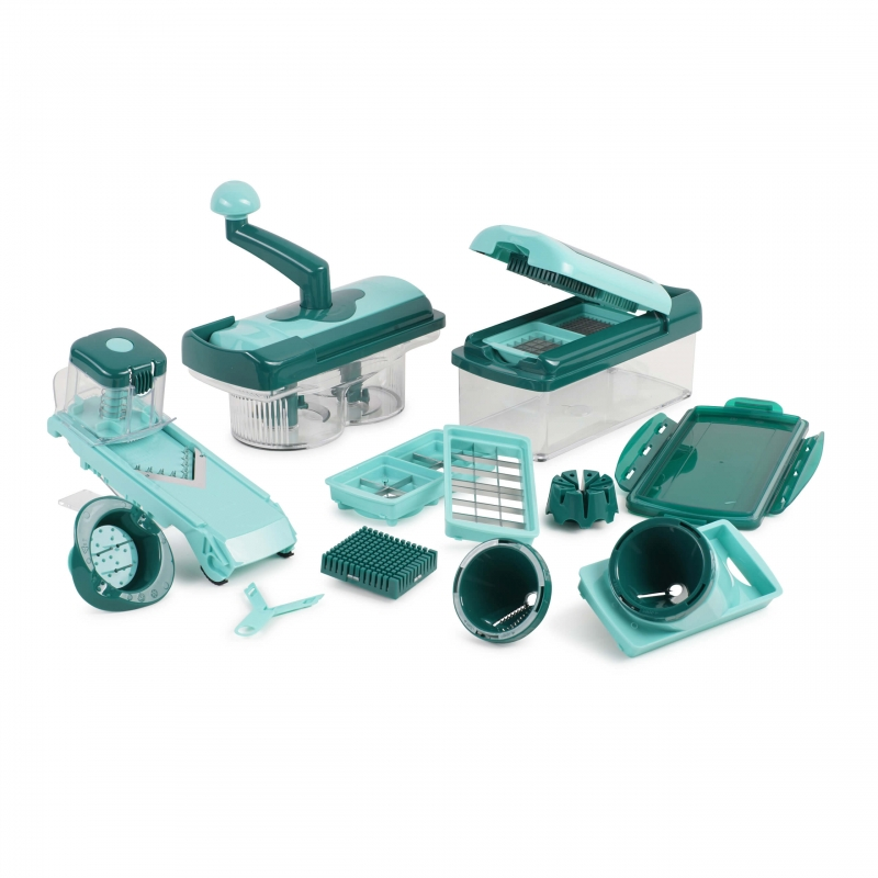 Nicer Dicer Fusion smart (Set 23tlg.) | inkl. Nicer Twist