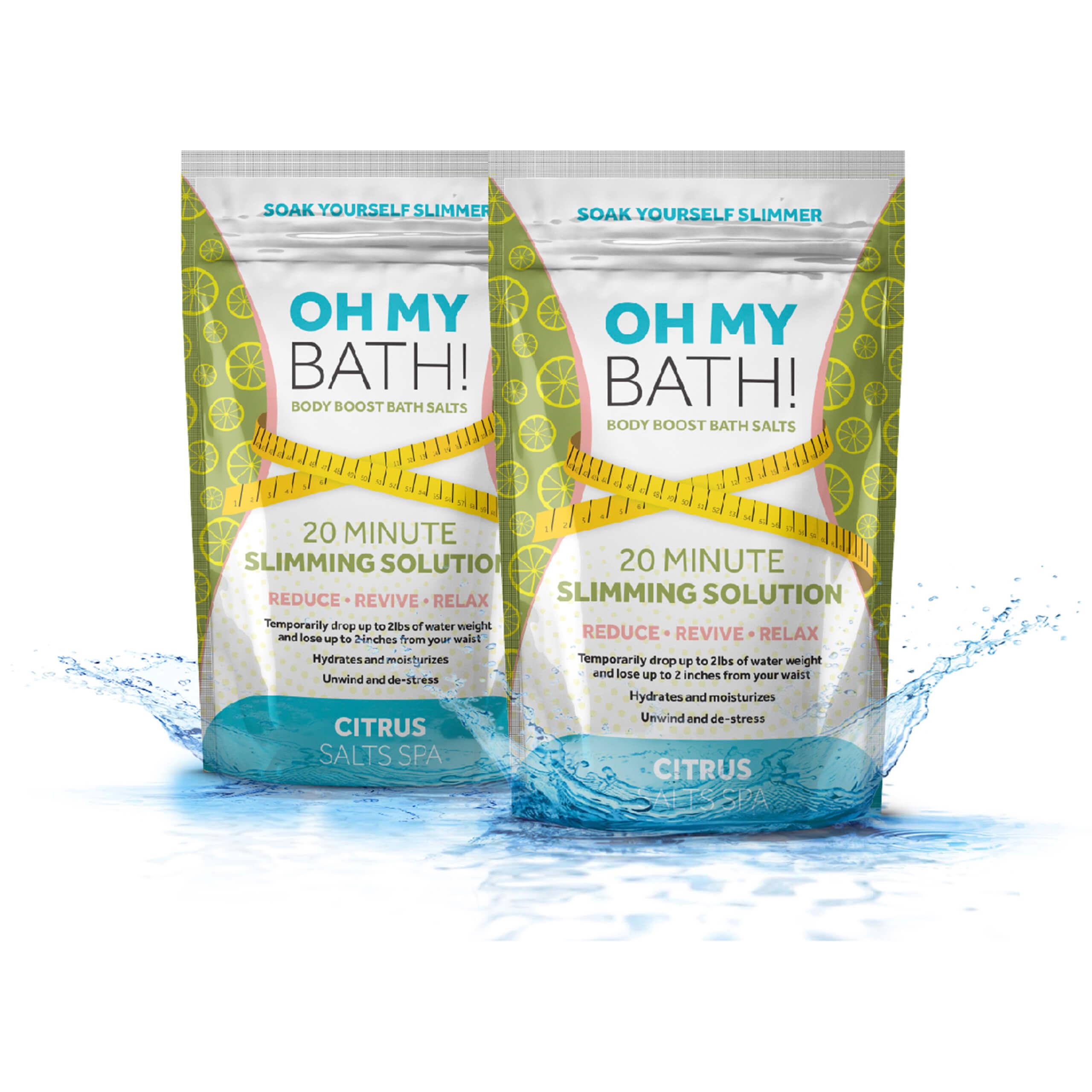 Oh My Bath | Körperboost Badesalz | Set 2-tlg.