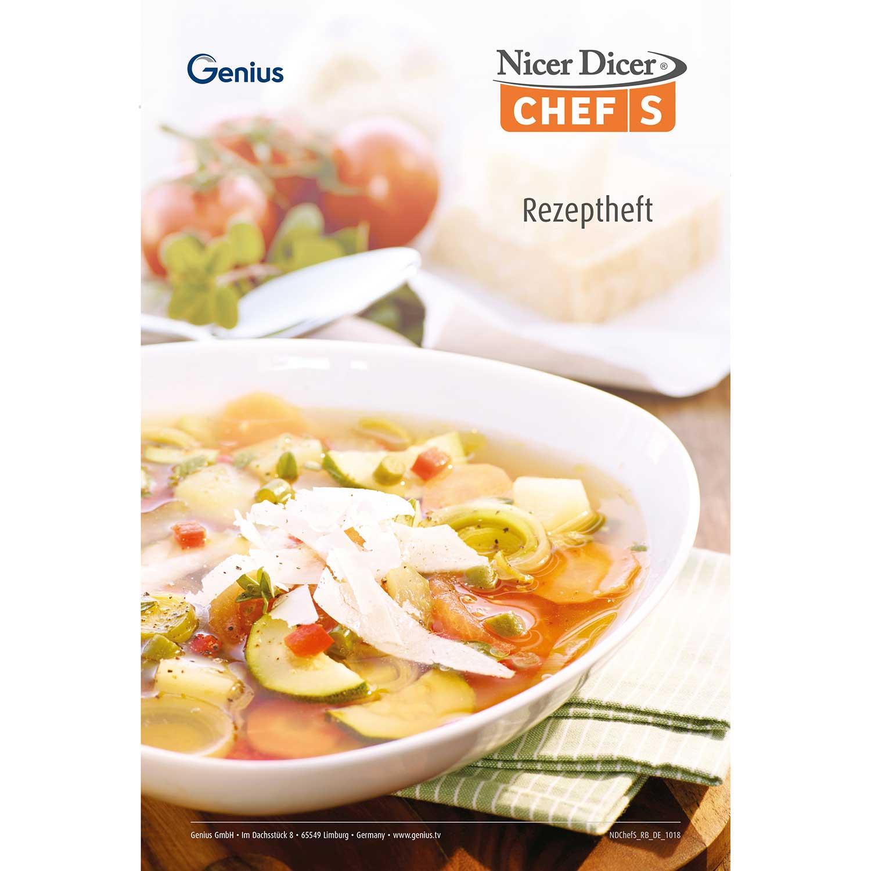 Nicer Dicer Chef S Rezeptheft (eBook)
