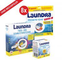 Laundra | Waschmittel-Set 192-tlg. | ohne Weichspüler