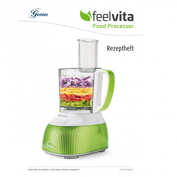 Feelvita Food Processor Rezeptheft (eBook)