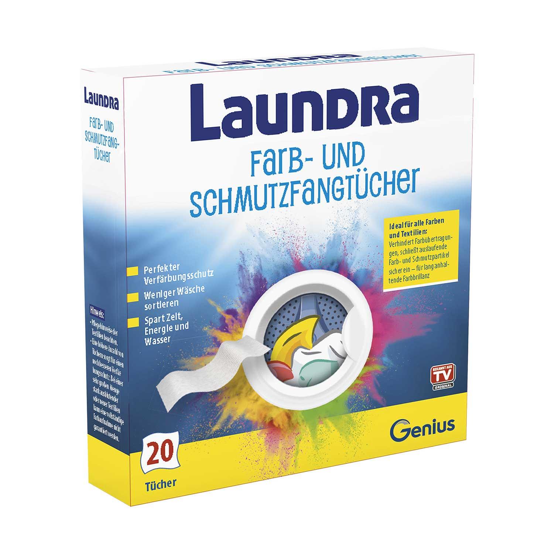 Laundra | Farb- und Schmutzfangtücher | Set 20-tlg.