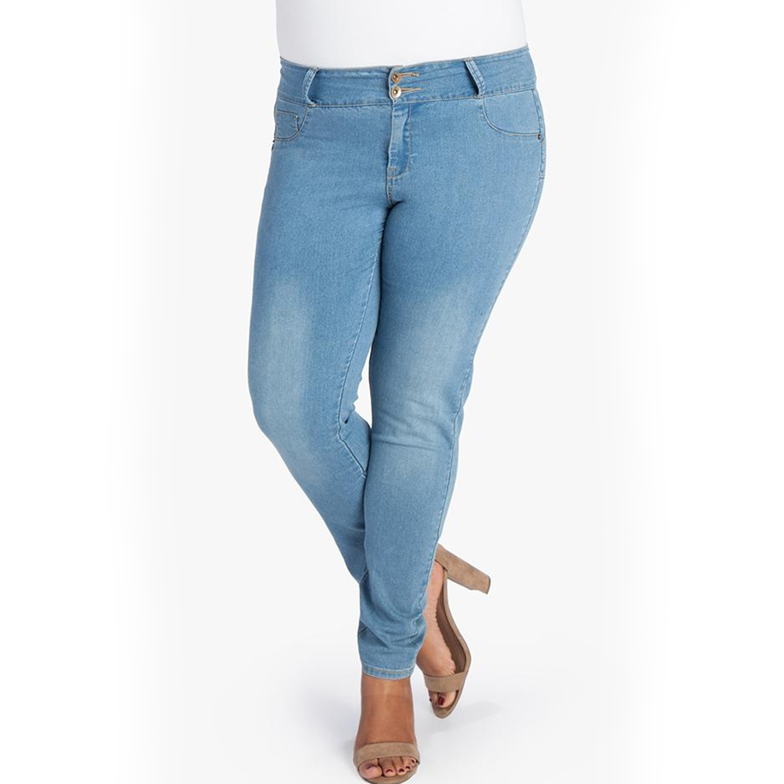 MyFit Jeans | Hellblau (44-50)