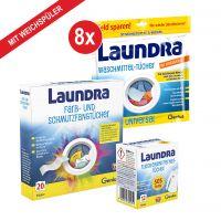 Laundra | Waschmittel-Set 192-tlg. | mit Weichspüler