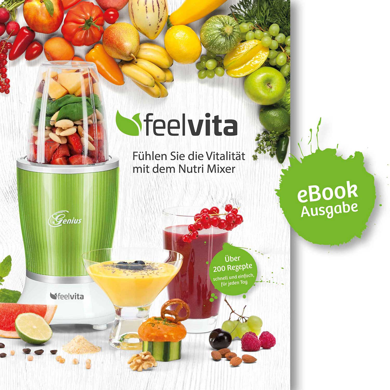 Feelvita | Nutri Mixer Rezeptbuch (eBook)